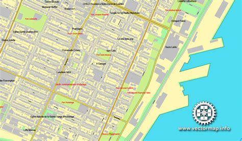printable map montreal montreal vector map in adobe illustrator printable city