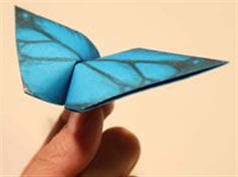 Flapping Butterfly Origami - how to make origami animals