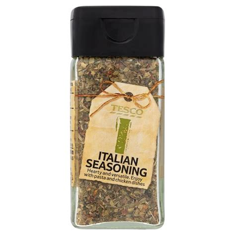 tesco italian seasoning 13g groceries tesco groceries
