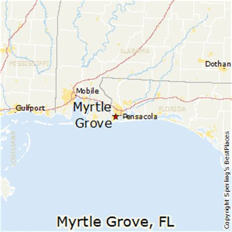 myrtle florida map best places to live in myrtle grove florida