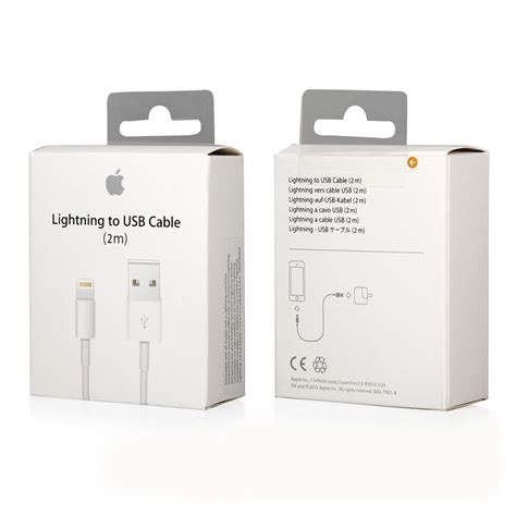 apple lightning to usb cable 2m oem