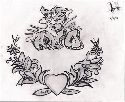 imagenes graffitis satanicos pin pictures amor graffiti te amo mucho y no quiero