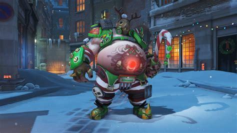 overwatch christmas event      christmas skins