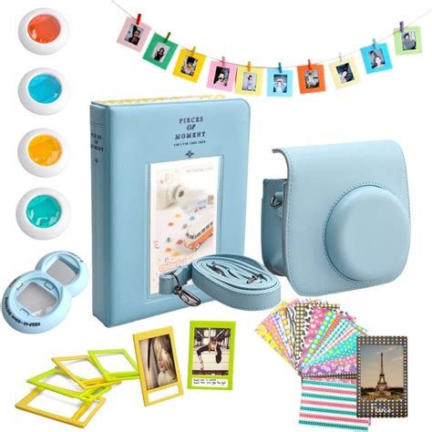 Set 2in1 caiul fujifilm instax mini 8 accessories 10 in 1 bundles set include album