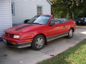 1991 dodge shadow es turbo convertible 2000 obo turbo