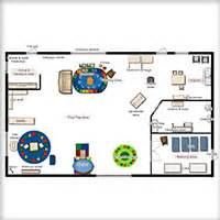 Infant Classroom Floor Plan by Classroom Floorplanner