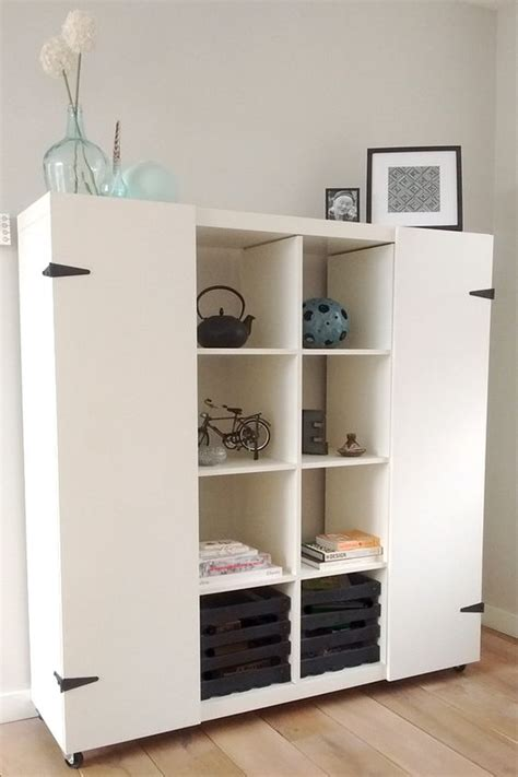 Cool Shelf Ideas by 35 Diy Ikea Kallax Shelves Hacks You Could Try Shelterness