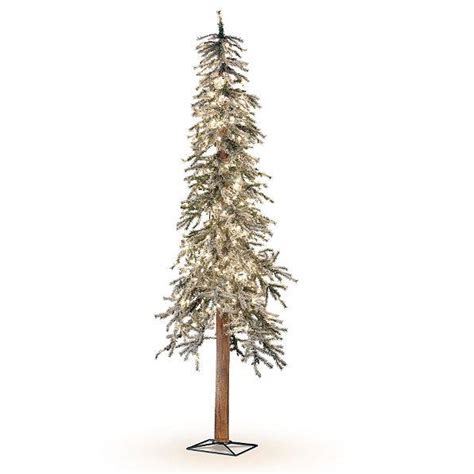 who sells artificial christmas trees lighted pre lit flocked alpine tree indoor decor 5 sizes ebay