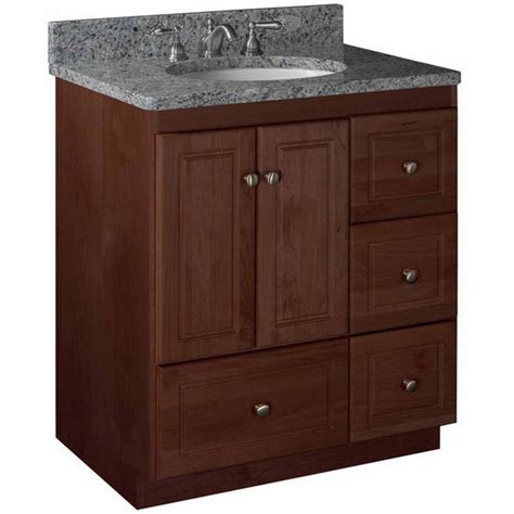 Bathroom Vanity Drawers by Bathroom Vanities Strasser Woodenworks 30 Quot W Simplicity