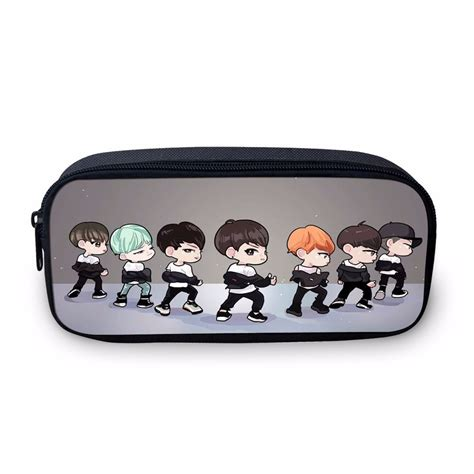Pensil Bts kpop bangtan boy bts pencil bag box