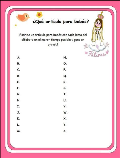 Juegos De Baby Shower by Juego Para Baby Shower Baby Vacas