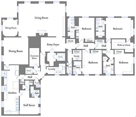 san francisco floor plans socketsite big views floor plan and price atop russian