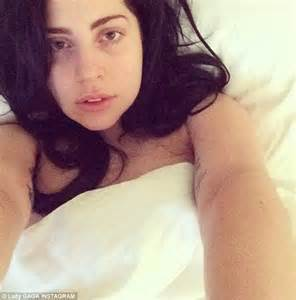 bed selfies lady gaga tweets about watching her controversial