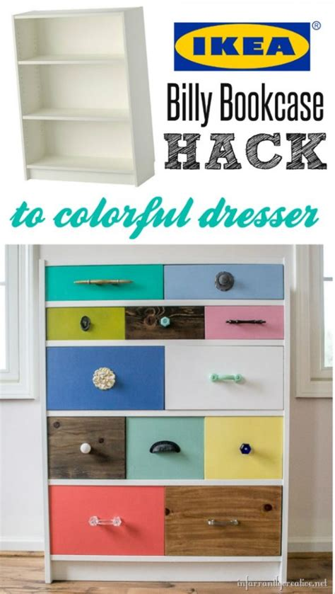 billy schublade ikea billy bookcase to drawer hack