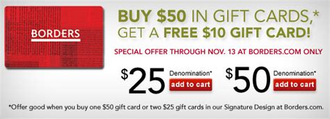 Borders Gift Cards - borders archives queen bee coupons
