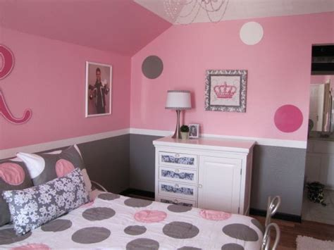 gray girl bedroom pretty in pink pink and gray girls bedroom the dresser