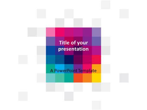 modern pixels powerpoint template presentationgo com