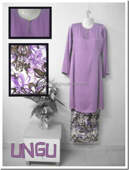 bju kurung kain kosong khazisboutique blog buju kurung pesak gantung ungu