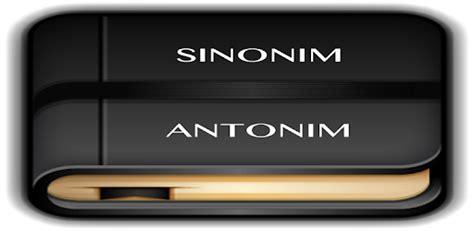 Kamus Sinonim Antonim Bahasa Indonesia Ori kamus sinonim antonim for pc