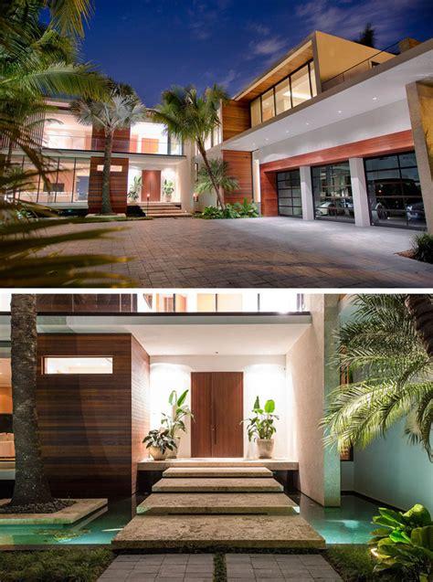 modern waterfront home arrives  miami contemporist