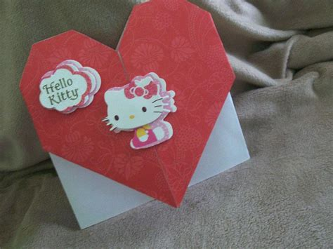 Origami Valentines Card - visual for origami cards slideshow