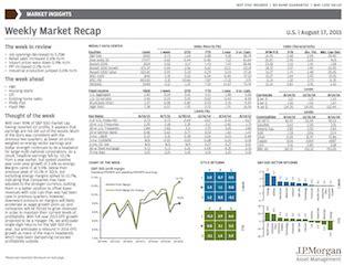 jp weekly market recap j p funds on quot weekly market recap http