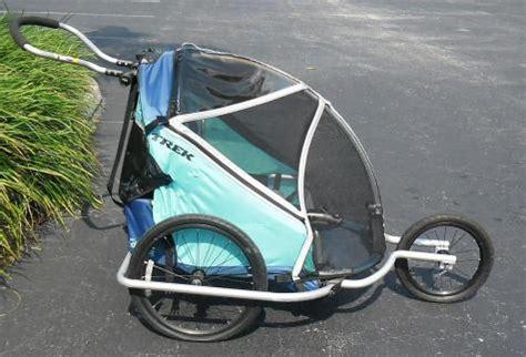 doodlebug trailer trek doodlebug 2 in 1 baby bike trailer