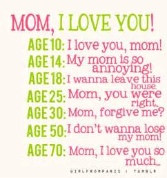 mom i love you quotes i inspiration