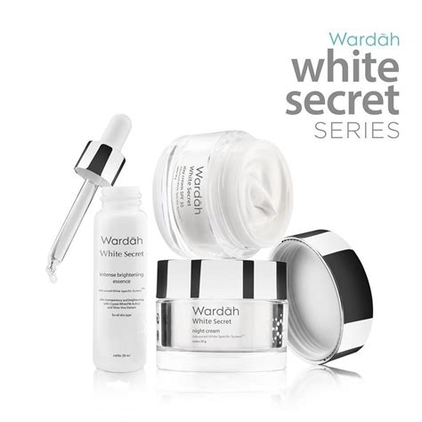 Pelembab Wardah Whitening paket wardah white secret cream17ml elevenia