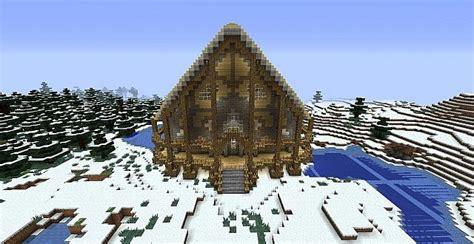 Minecraft Winter Cabin by Cabin In Winter Minecraft Project