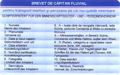 vaarbewijs dienstboekje commission centrale pour la navigation du rhin equipage