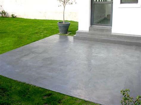 Terrasse Beton Couleur by Peinture Pour Sol Beton Exterieur 10544 Sprint Co
