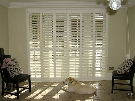 Patio Door Shutters Interior Patio Door Shutter Images