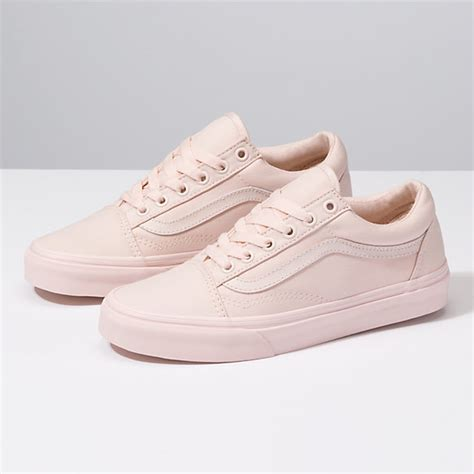 Vans Os Pink by Mono Canvas Skool Shop Shoes At Vans