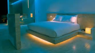 smart bedroom technology bring the stylish glow of lights inspired by smart