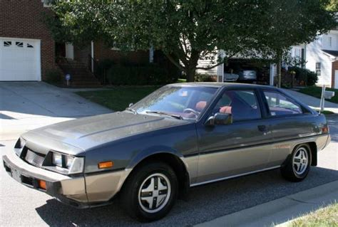 mitsubishi cordia for sale kidney anyone mint 30k mile mitsubishi cordia turbo