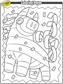 cinco de mayo coloring pages cinco de mayo pi 241 ata coloring page crayola