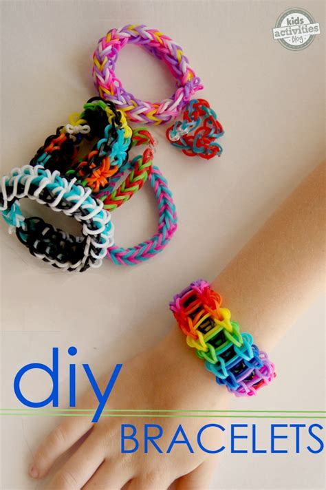Cool Things To Make With Rubber Bands And Paper - diy bracelets been released on activities