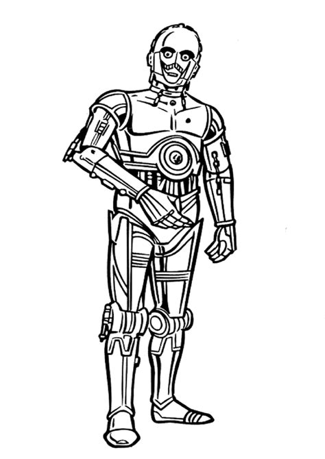 free coloring pages of birds 2 c3po
