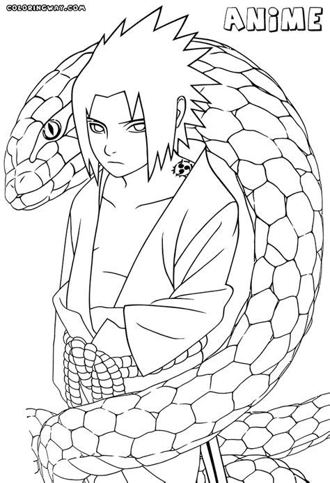 Anime Coloring Pages To Print Printable Anime Boy Coloring Pages Coloring Pages To Download And by Anime Coloring Pages To Print Printable