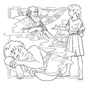 Eli And Samuel Coloring Sheet Coloring Pages