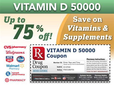 a supplements coupon vitamins supplements prescription coupons with pharmacy