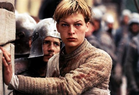 page boy cut joan of arc milla jovovich joan of arc short hair milla jovovich