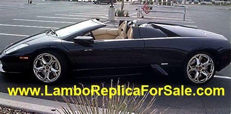 Lamborghini Gallardo Replica Kit For Sale Lamborghini Murcielago Replica Kit Car For Sale Looks
