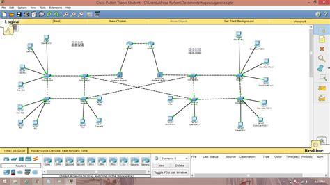 layout jaringan lan flashared