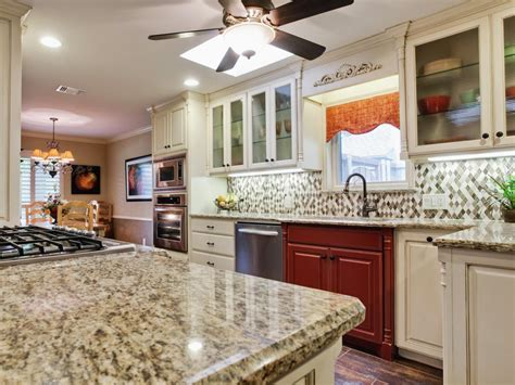 kitchen countertops and backsplashes backsplash ideas for granite countertops hgtv pictures