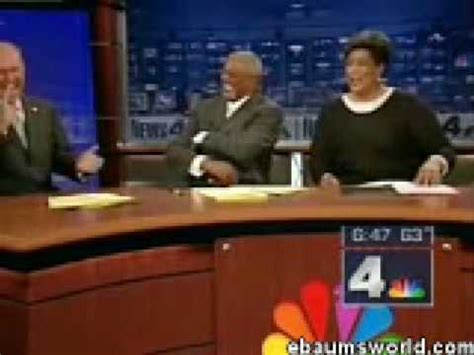 funny news reader cannot stop laughing at model falling model falls twice news anchors can t stop laughing
