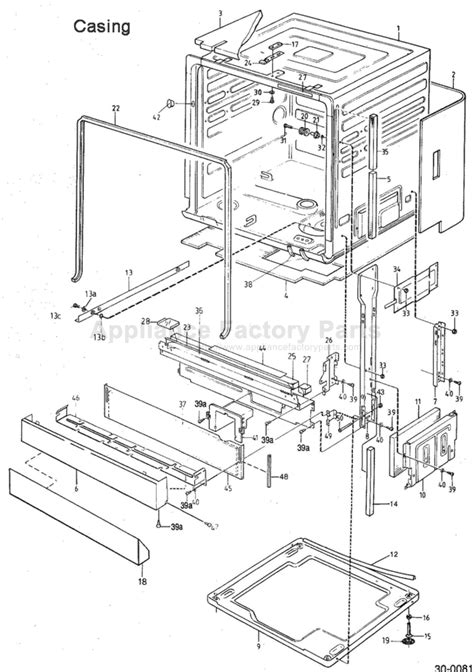 asko dishwasher parts diagram parts for 1473 asko dishwashers