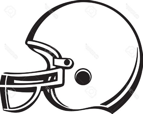 Football Helmet Outline Profile by Best 15 Football Helmet Vinyl Ready Stock Vector Cdr