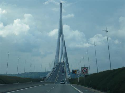 turisti per caso normandia il cielo dal ponte di normandia viaggi vacanze e